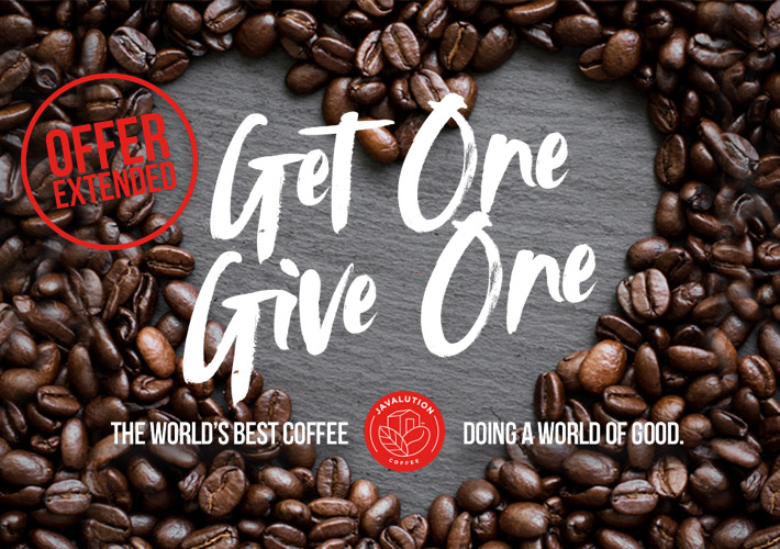 Get One Give One Product Promo